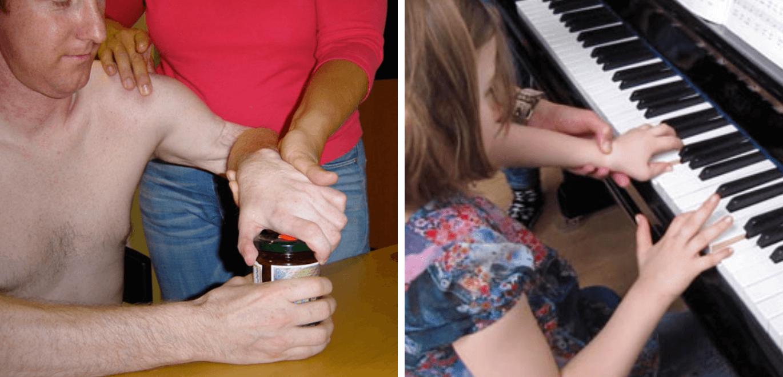 Neuroorthopädische Schulter-/Handrehabilitation